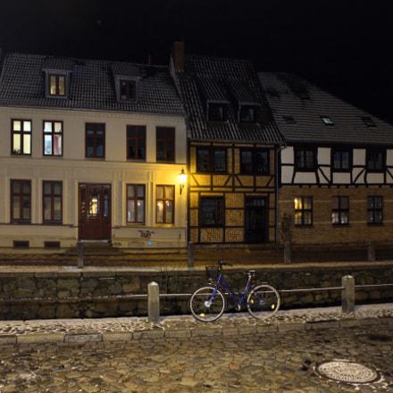 2018-02-03 Wismar Nacht, Nikon D750, AF Nikkor 20mm f/2.8D