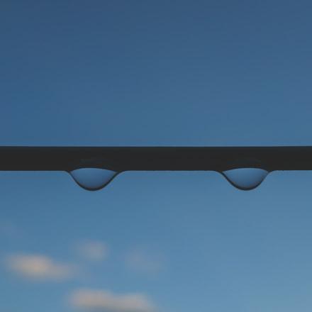 2 Drops 1 Line, Sony DSC-QX100