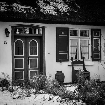 Fischerhaus in Born auf, Canon POWERSHOT G3