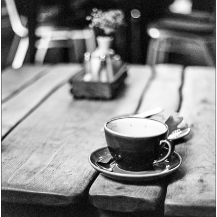 All the coffee is, Canon EOS 1N