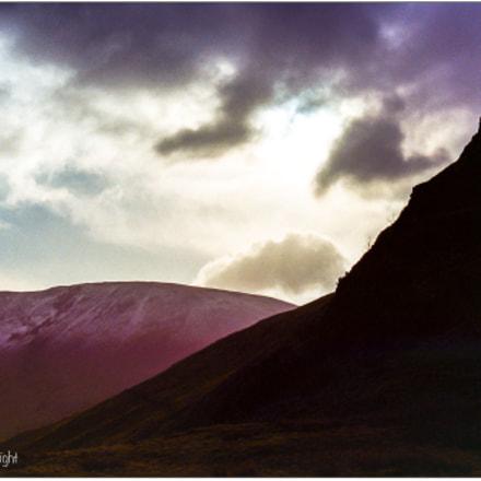 Cadair Idris Sunset, Canon EOS 5
