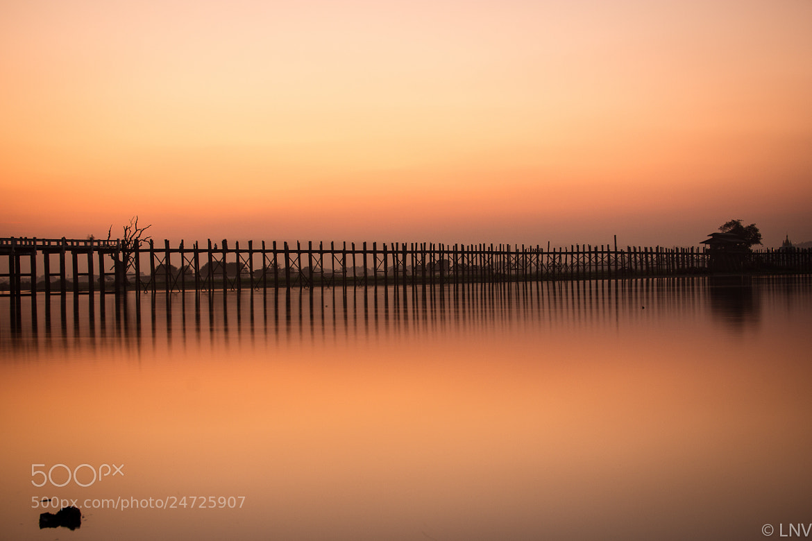 Photograph U-Bein Bridge by Lisa Vaz on 500px