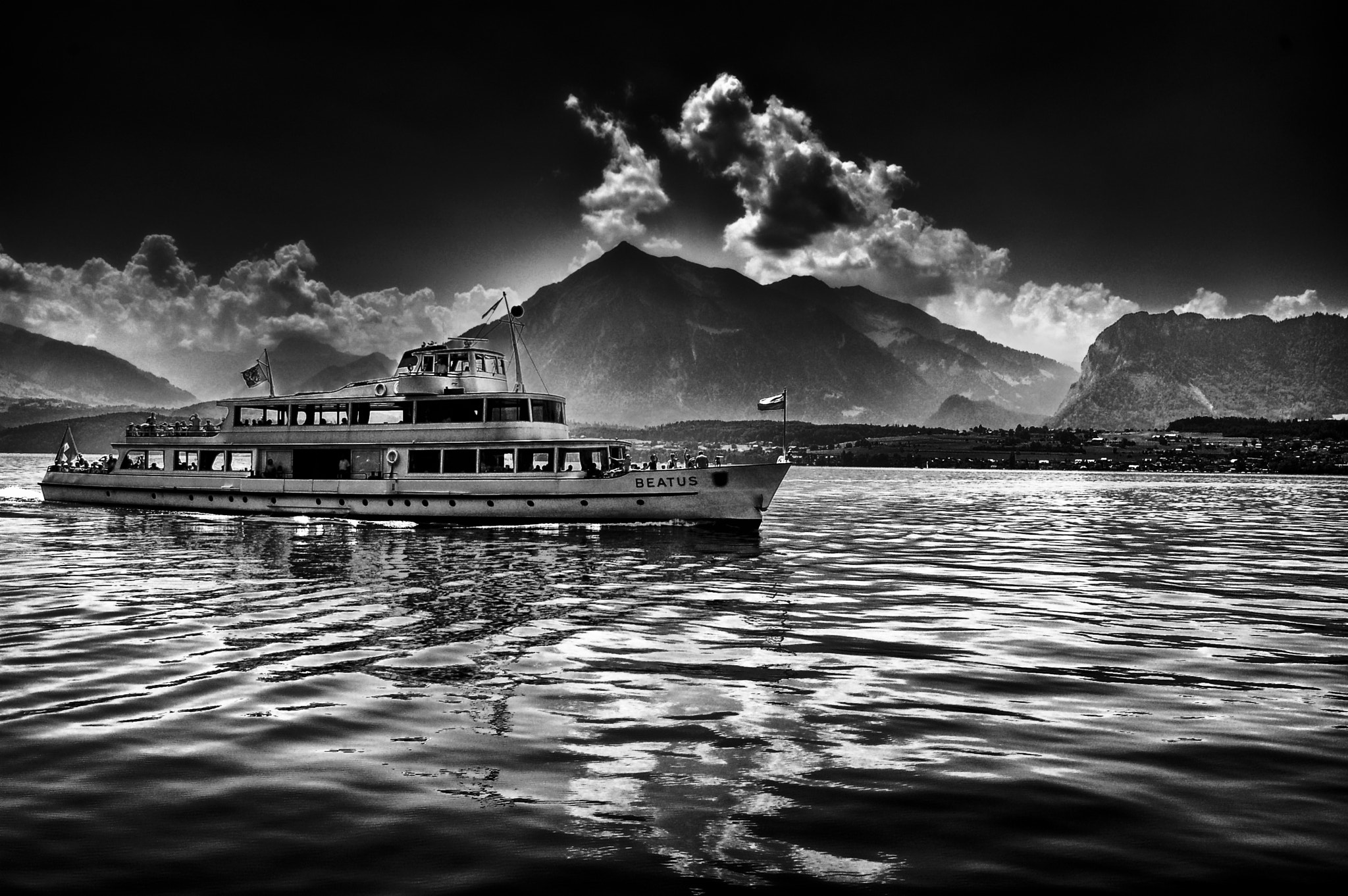 Photograph ~ On Black Water ~ by David O Sullivan on 500px