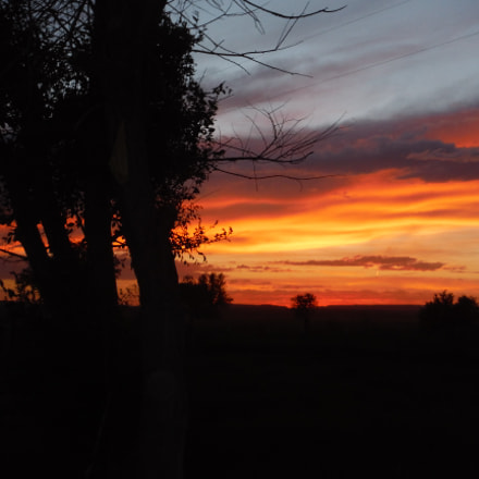 Sunset In Montana, Fujifilm FinePix XP70 XP71 XP75