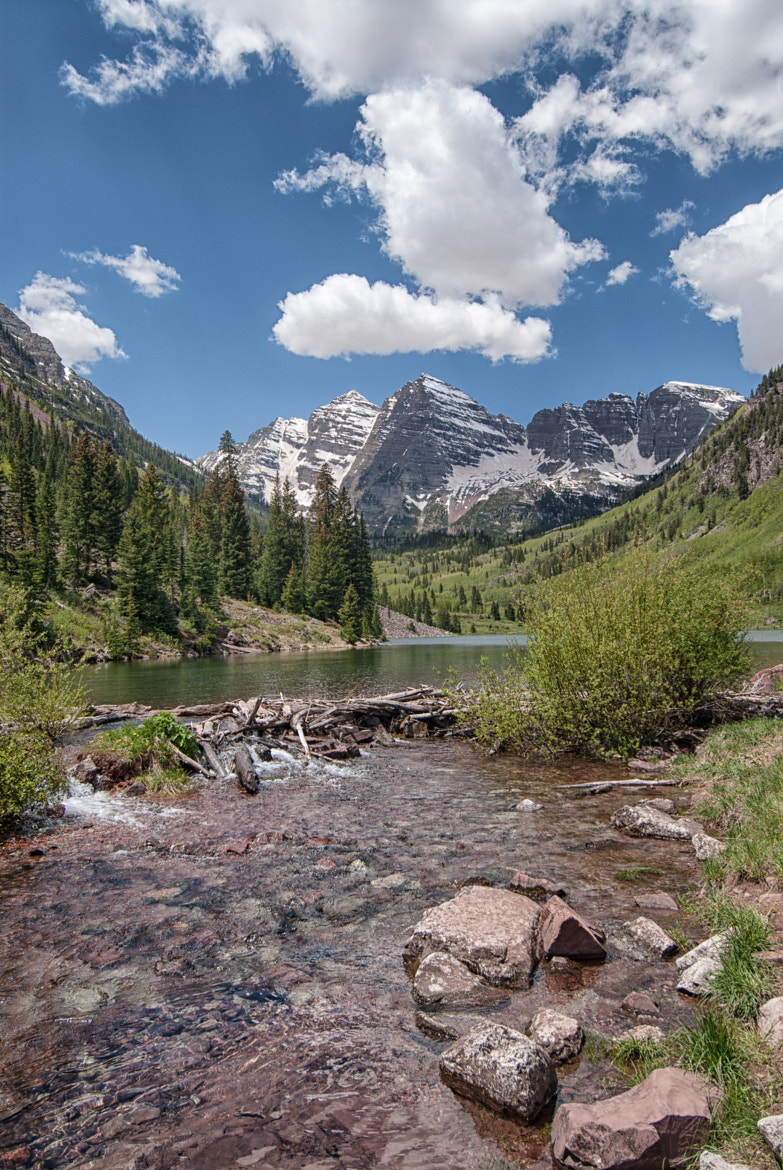 Photograph Maroon Bells Spring by Rodney Lange on 500px