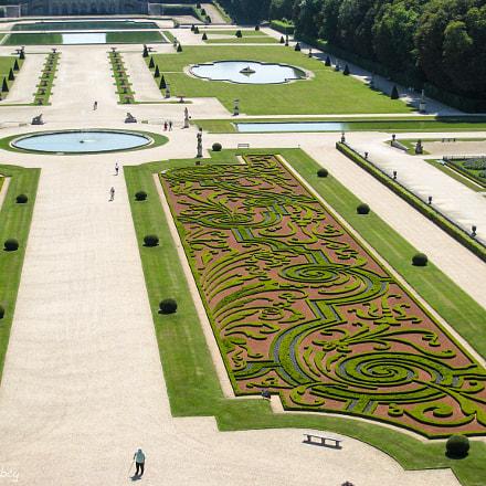 French Garden, Canon DIGITAL IXUS 850 IS