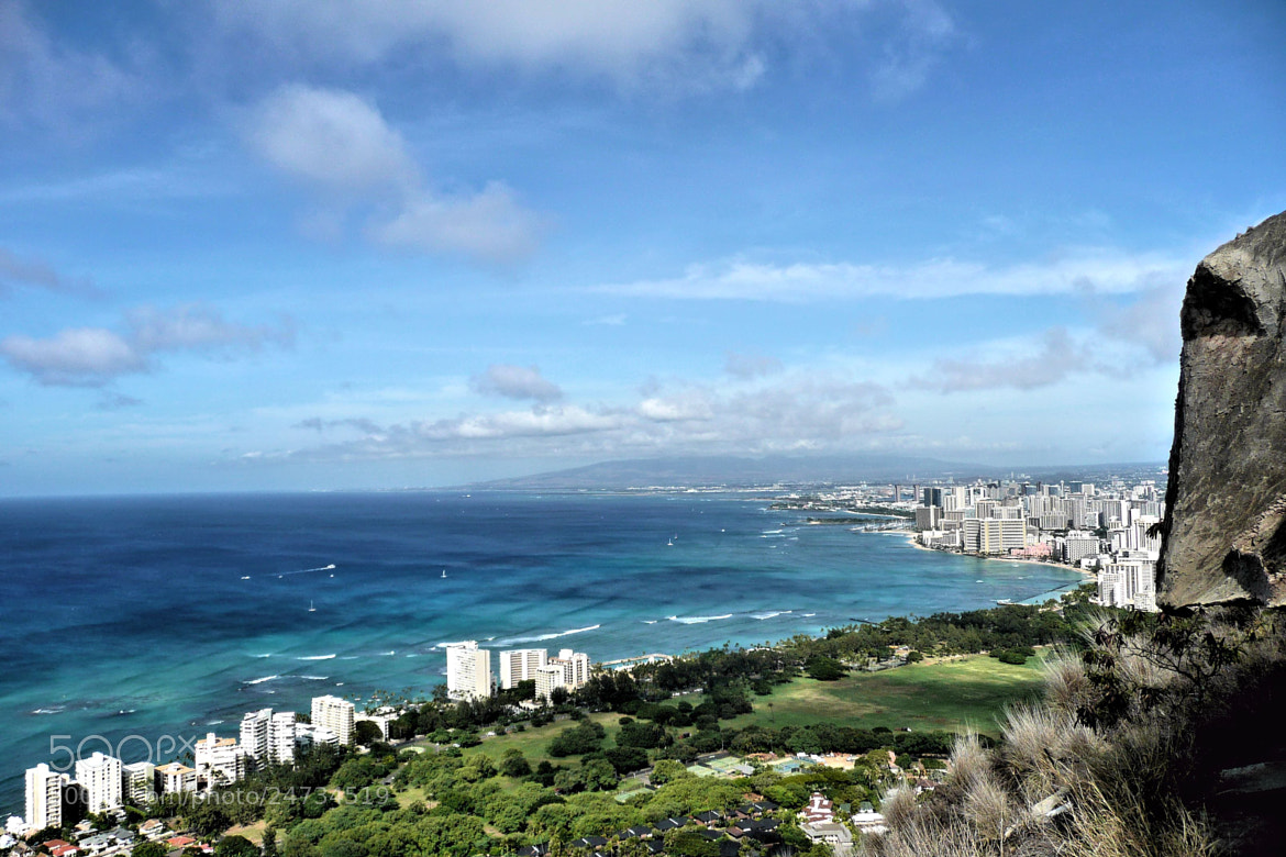 Photograph Waikiki- view from Diamond Head by Valerie Sauve on 500px