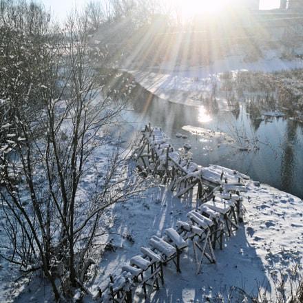 В лучах зимнего солнца, Sony DSC-W510