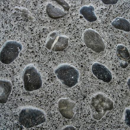 Texture of a stone, Nikon E5200