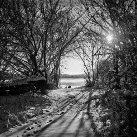 Дорога к реке, Sony DSC-W510