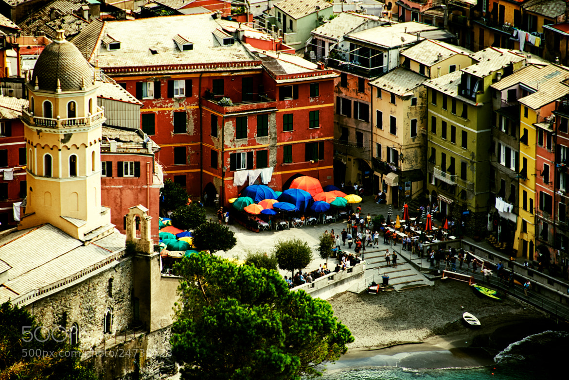 Photograph Vernazza From Above by Dan Goldberger on 500px