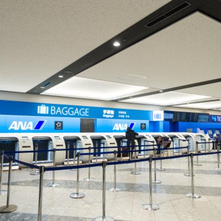 Narita Airport, Nikon COOLPIX P330