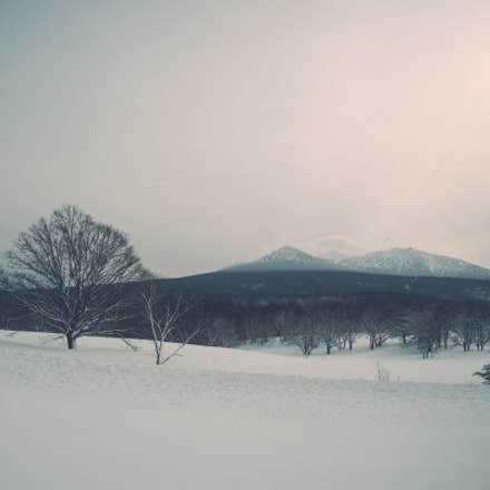 Snow on the hill, Nikon COOLPIX P330
