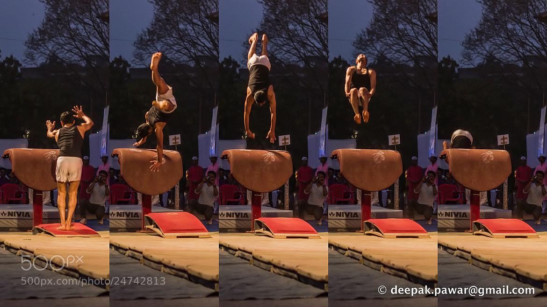 Photograph Handspring Vault  by Deepak Pawar on 500px