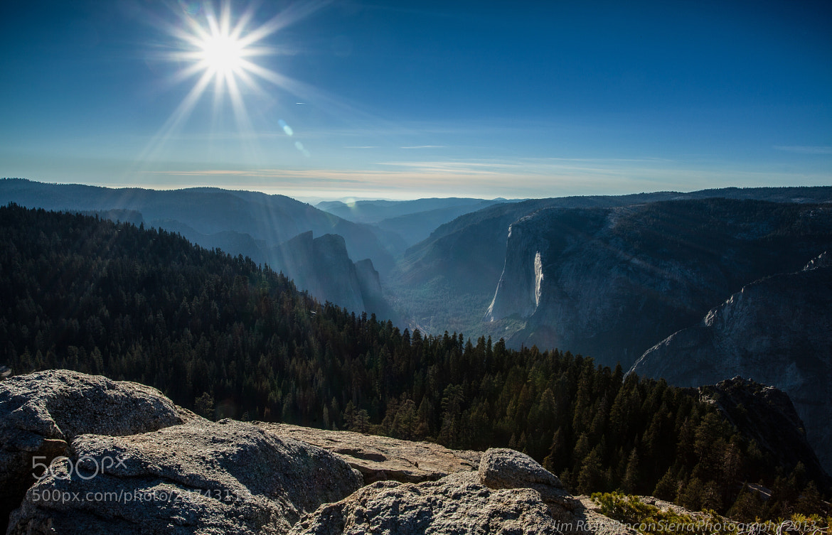 Photograph Looking West Down Yosemite valley!!! by Jim Ross on 500px
