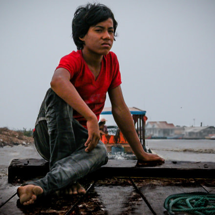 Tonle Sap, Cambodia, Nikon E5700