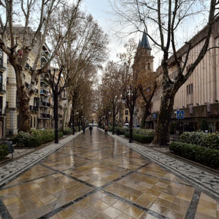 Rain in Granada, Nikon D7000, Sigma 18-125mm F3.5-5.6 DC