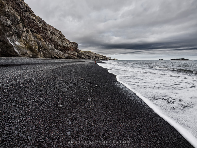 Photograph Black beach by Cesar March on 500px