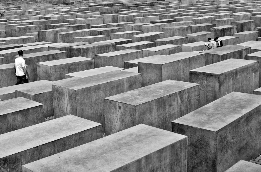 Photograph Holocaust Memorial  by Bruce Valentine on 500px