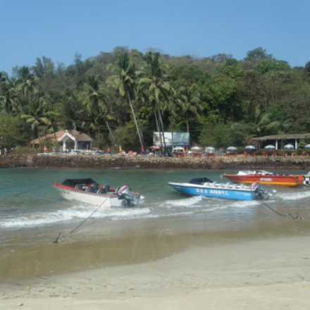 Baga Beach, Goa, Fujifilm FinePix Z20fd