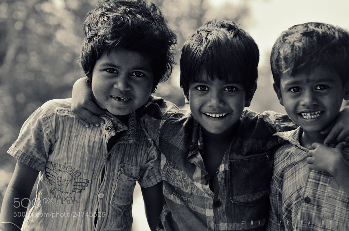 Photograph Raising Happiness by Partha Das on 500px