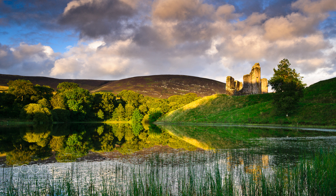 Photograph Morton Castle by Kenny Muir on 500px
