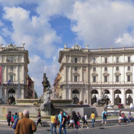 Piazza della Repubblica ROME, Canon POWERSHOT S70
