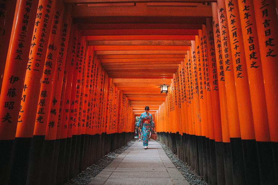 Fushimi Inari Taisha by S  on 500px.com