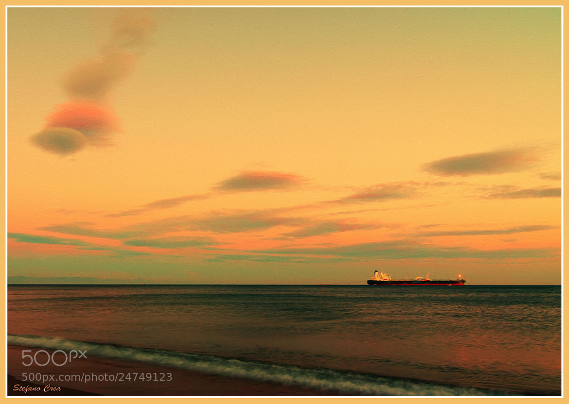 Photograph Sunset on harbourage by Stefano Crea on 500px