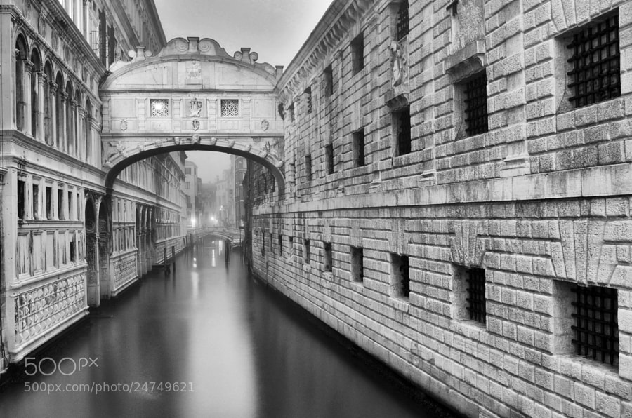 Photograph Bridge of Sighs by Csilla Zelko on 500px
