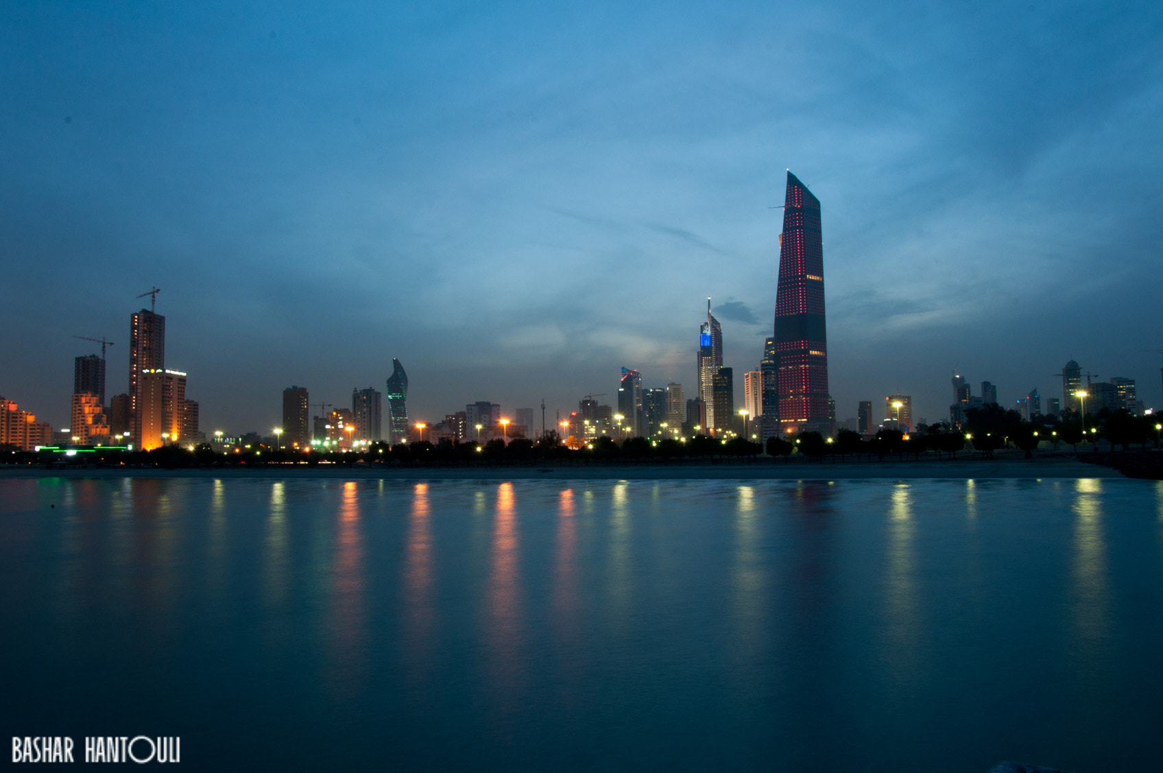 Photograph Kuwait at night by Bashar H on 500px