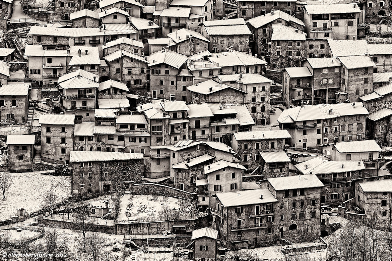 Photograph Small town of Valvestino Italy by Alberto Baruffi on 500px