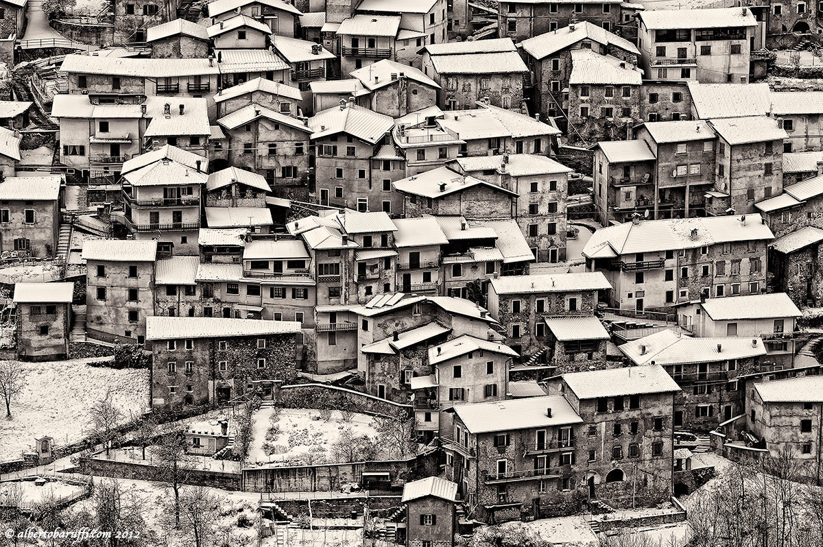 Photograph Small town of Valvestino Italy by Alberto Baruffi on 500px