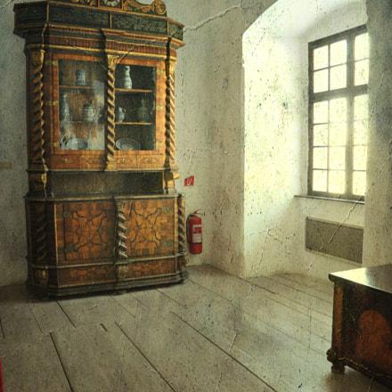 Cerveny Kamien Hrad - inside