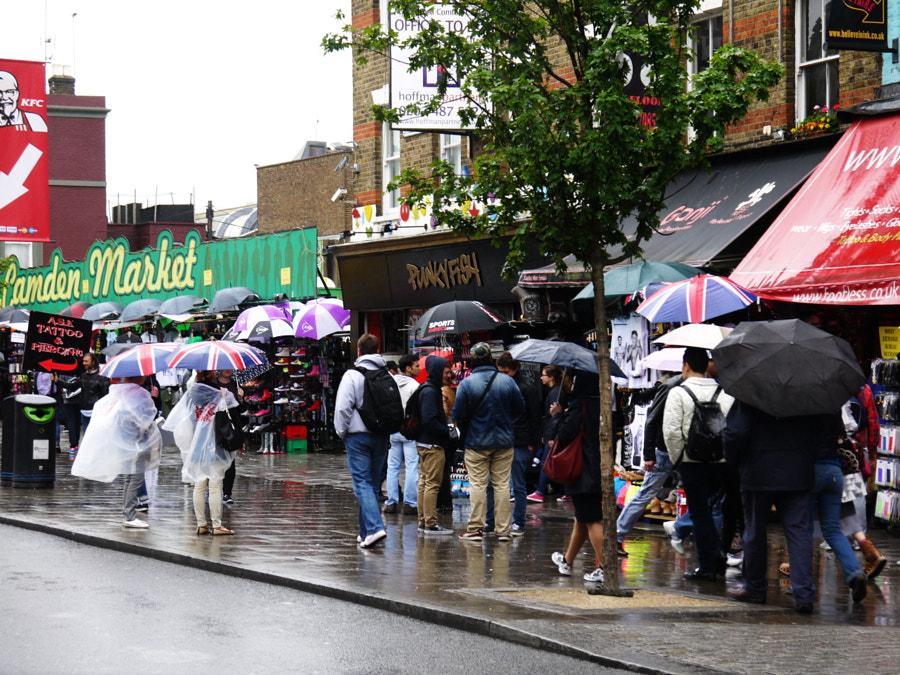 Camden Town Market, London by Sandra  on 500px.com