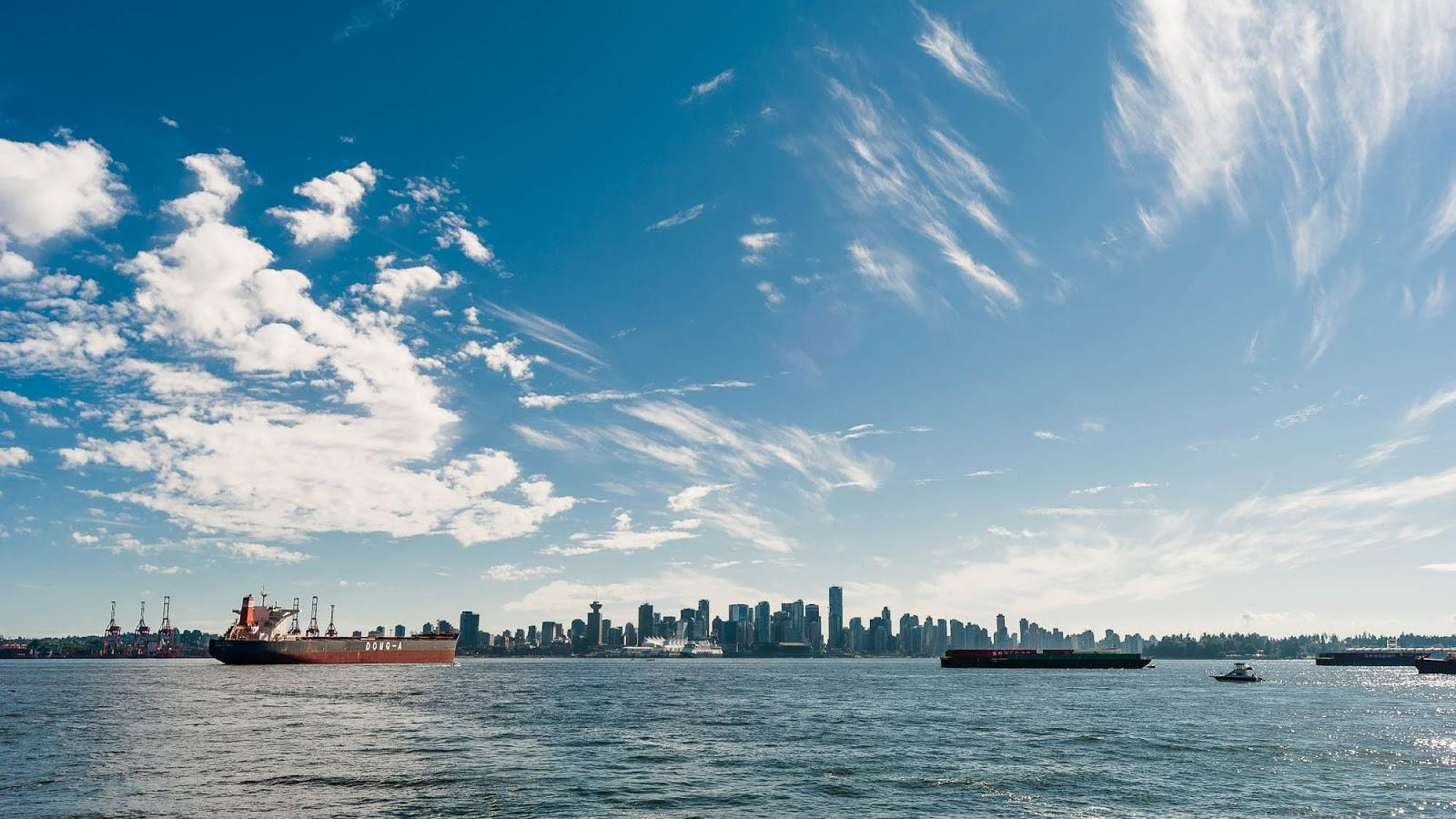 Photograph Vancouver Skyline from North Van by Frank Neulichedl on 500px