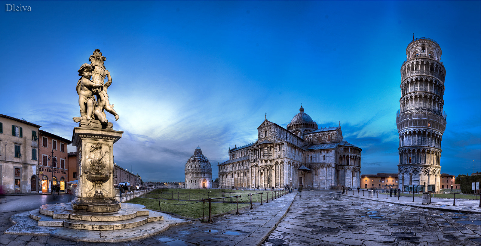 Photograph Piazza dei Miracoli (Pisa) by Domingo Leiva on 500px