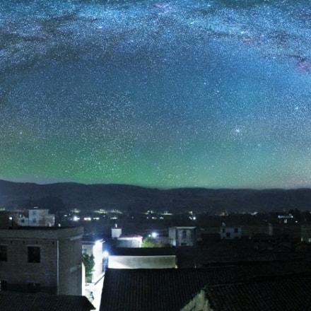 starry night, Canon IXUS 140