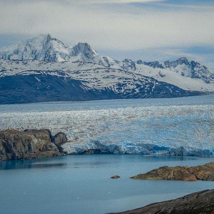 Glaciar Upsala, Sony DSC-W70