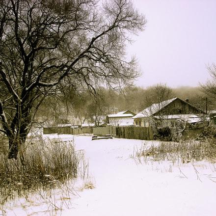 Февральский снег...., Sony DSC-N2
