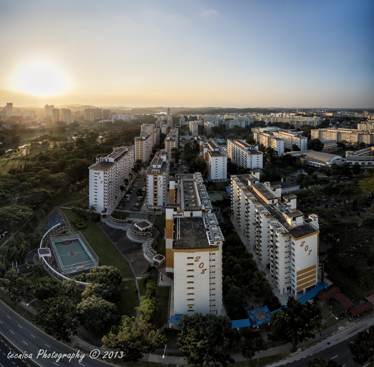 Photograph Ang Mo Kio Setting by t e c n i c a on 500px