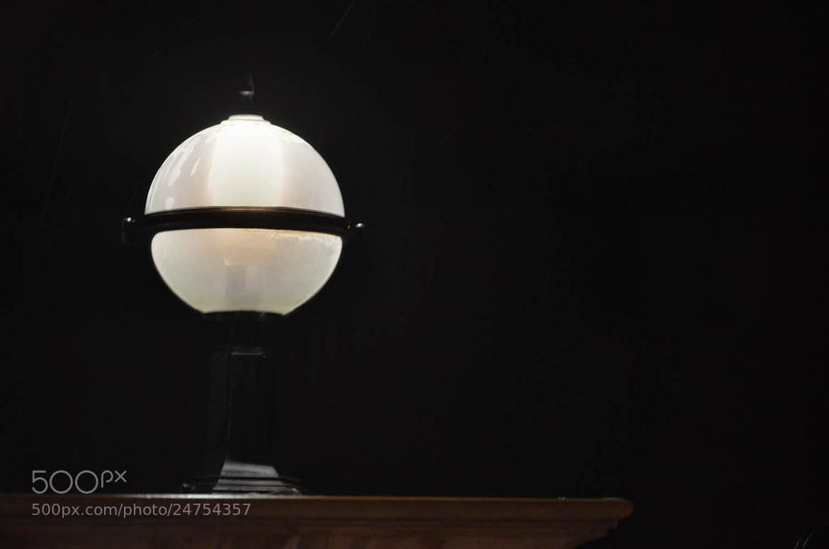Photograph Lamp And Rain by Hossam Ellawindy on 500px