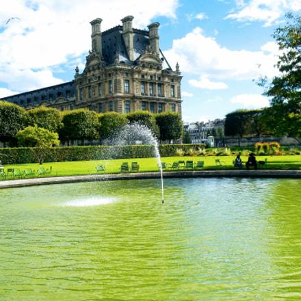 Jardin des Tuileries, Paris, Nikon COOLPIX S5300