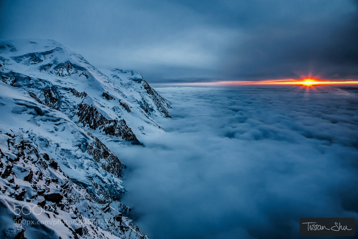 Photograph Above the Clouds by Tristan Shu on 500px