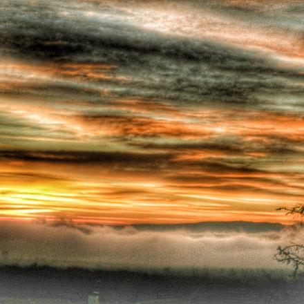 Atardecer Embalse Navacerrada, Nikon E7600