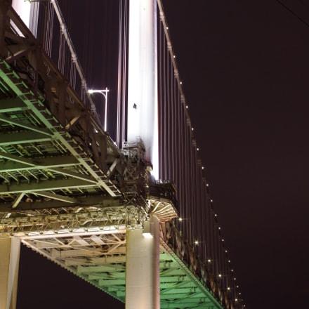 Rainbow Bridge seen from, Pentax K-30, smc PENTAX-FA 35mm F2 AL