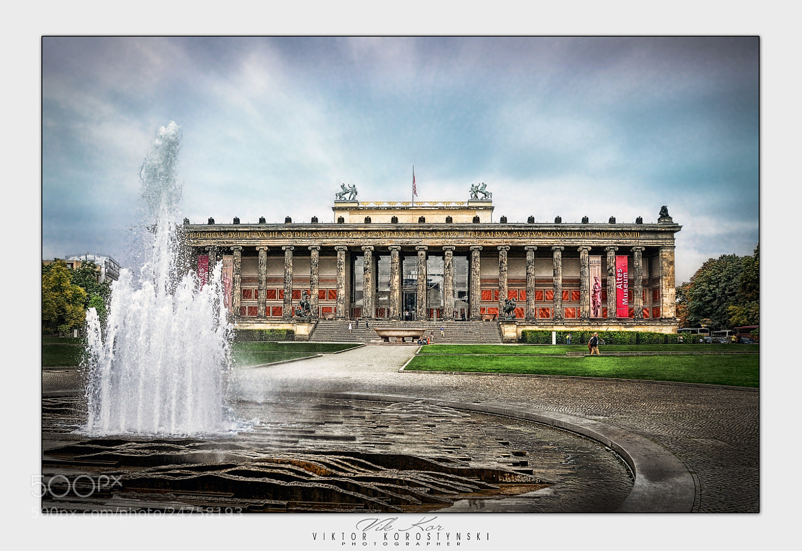 Photograph Altes Museum. Berlin by Viktor Korostynski on 500px