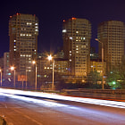 Постер, плакат: Night street in Rostov
