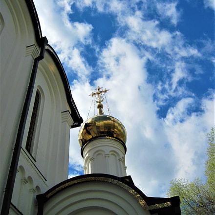 Храм в Переславле., Canon POWERSHOT A1100 IS