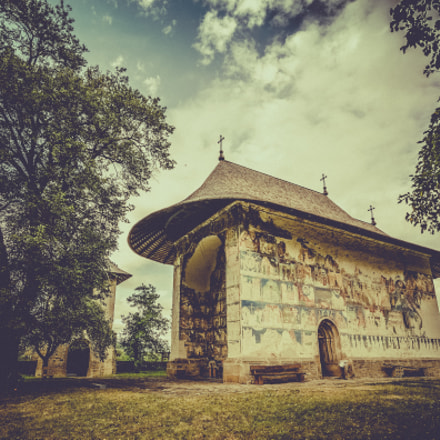 Arbore Monastery, Romania